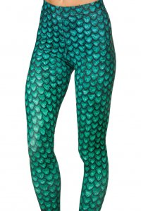 Green Dragon Leggings