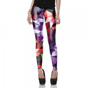 Geometric Art Leggings