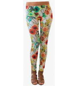 Roses Jewelry Leggings