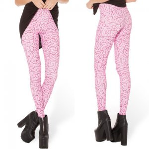 Punk Rock Pink Leggings