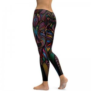 Abstract Mandala Leggings