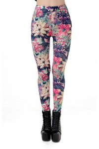 Big Flower Leggings