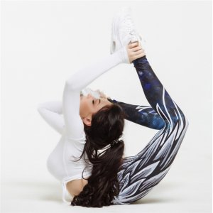 Angel Wings Sport Printed Fitness Yoga Leggings