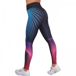 Colorful Dots Sport Fitness Yoga Workout Leggings