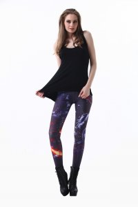 Fire Rock Leggings