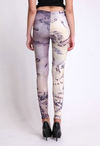 Sexy World Map Leggings