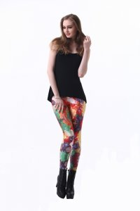 Colorful Fruit Leggings