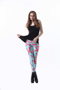 Hot Red Pepper Leggings