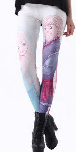 Frozen Ice Romance Leggings