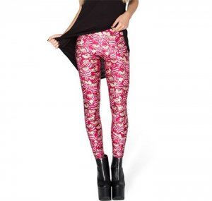 Big Bee Cartoon Leggings