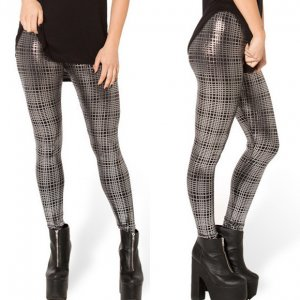 Punk Rock Grey Leggings