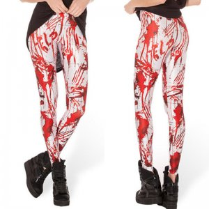 Tattoo Blood Leggings