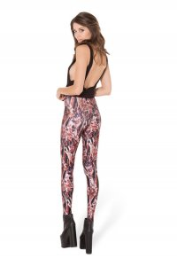 Tattoo Bloodstain Hands Leggings