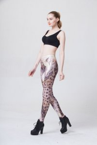 Leopard Head Leggings