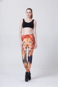 Lion Head Leggings