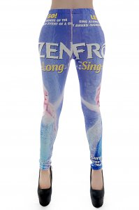 Frozen Sing a Long Leggings