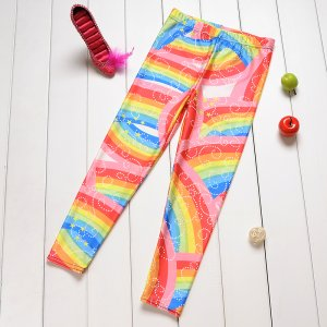 Rainbow Kids Leggings