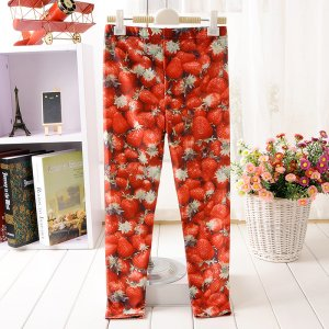 Strawberry Kids Leggings