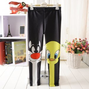 Cartoon Kids Leggings