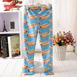 Hot Dog Kids Leggings