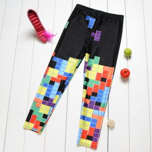 Tetris Kids Leggings