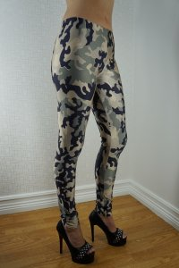 Camouflage Leggings, Army Leggings, Kamouflage leggings