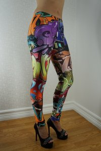 Graffiti Color Leggings