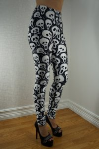 Scary mask Leggings