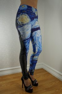 Strange Night Leggings