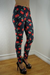 Cherries Leggings