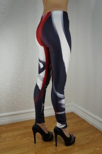 Cartoon V Leggings