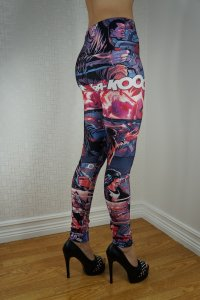 Superhero Cartoon Leggings