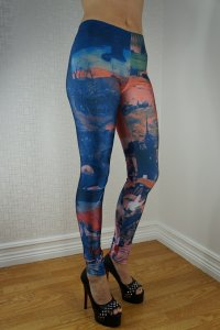 War Blue Leggings