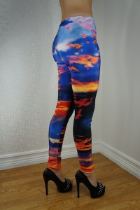 The Fire Sky Leggings