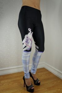 The man in Space Leggings