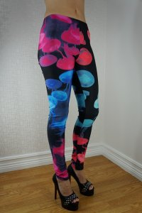 Color Jellyfish Leggings