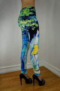 Cat in Tree Leggings