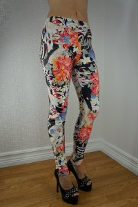 Flowers Tattoo Leggings