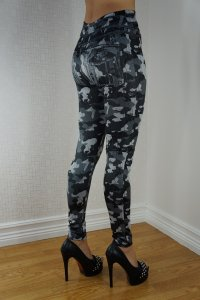 Black Camouflage Leggings