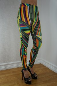 Color Mixed Leggings