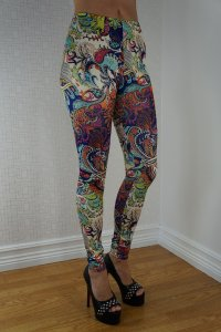 Multi Tattoo Leggings