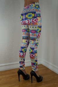Various Color Patterns Leggings