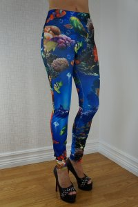 Aquarium Leggings