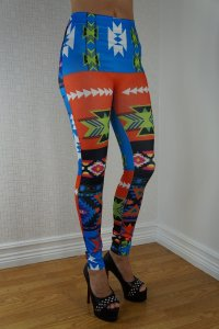 Pattern Color Leggings
