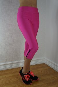 Neon Fluorescent Leggings Pink