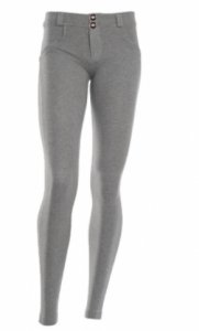 Grey Stretch Fit Shaping Butt Lifting Leggings