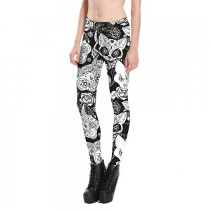 Skull & Kitten Leggings