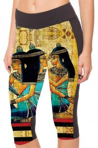 Pharaoh High Waist With Side Pocket for Phone Capri Pants