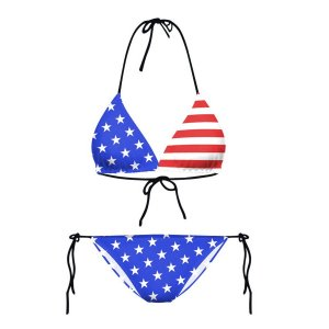 Bikini 2-pieces American Flag