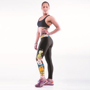 High Waist Adventure Gym Sport Yoga Fitness Leggings Pants